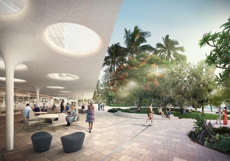 Mooloolaba // 1 Mooloolaba Esplanade, Mooloolaba, Queensland // Client: Aria Property // Architect: Elenberg Fraser