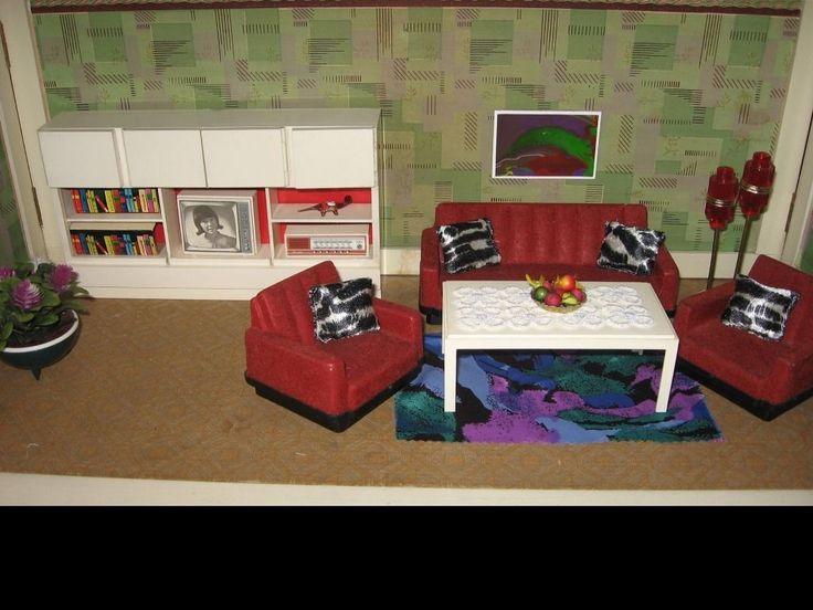 14 best Crailsheimer images on Pinterest Dollhouses, Doll houses - barbie wohnzimmer möbel