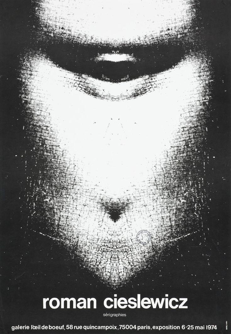 Roman Cieslewicz. Sérigraphies  Roman Cieslewicz (1930-1996) Commandité par la Galerie de l'OEil de boeuf, 1974