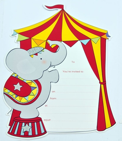 170 best Circus Invites images on Pinterest