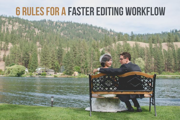 6 Rules to Follow for a Faster Photo Editing Workflow I've said it once and I'll say it again...  Becoming more efficient with your time and having a fast post processing photo editing workflow is the number one way to keep your business costs down and boost your profits.  Do you agree?  If you agree that having a fast