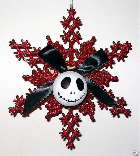 Nightmare Before Christmas Ornament made from $$ Store Items - OCCASIONS AND HOLIDAYS #Holidays-Events