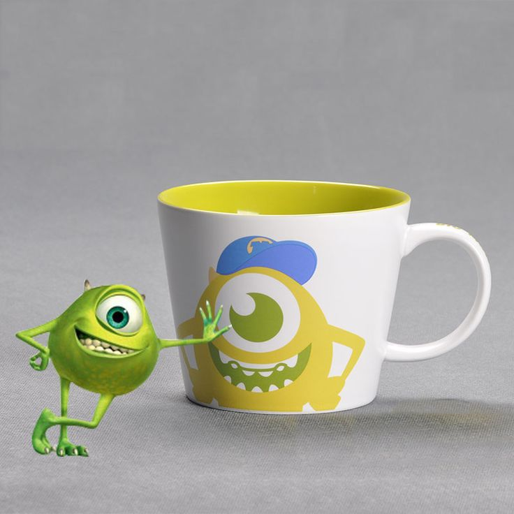 Mao Monster Creative Fine Ceramic Glaze Mug - Disney Coffee Mug - Women Coffee Mug :: BeardBrother