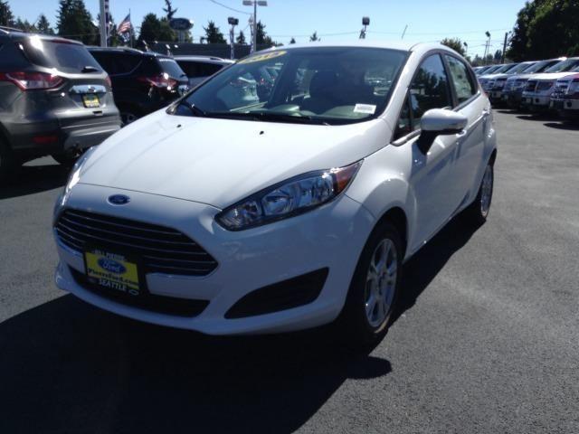 2015 Ford Fiesta in Oxford White |Harris Ford 20006 64th Ave W Lynwood, WA 98036 425-774-4141 www.harrisford.com #HarrisFord #Washington #Lynwood #Ford