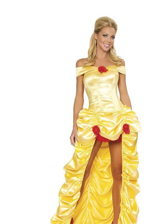 Sexy Belle Costume | Adult Womens Disney Beauty and the Beast Halloween Costumes