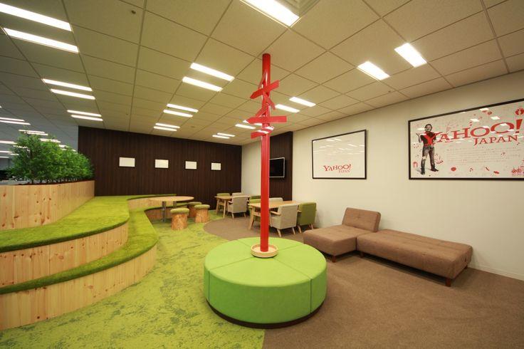 棚田のあるリフレッシュスペース|オフィスデザイン事例|デザイナーズオフィスのヴィス