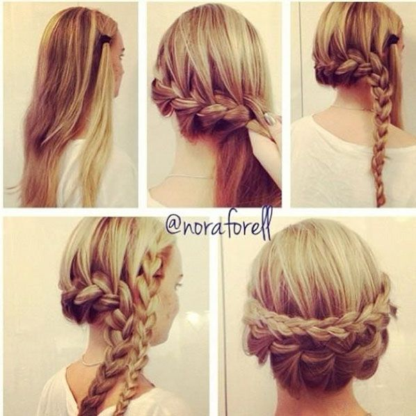 hair styles that are fun and easy to do with a friend.