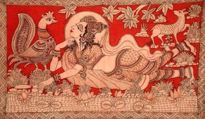 Design Decor & Disha: Indian Art: Kalamkari (South Indian Art)