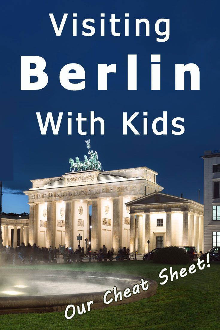 Visiting Berlin With Kids - Our Cheat Sheet.   We're going to Berlin! In preparation for our trip, I researched Berlin attractions and came up with a list of must-see places that are a good fit for a family with kids.  Click through to read the post. It's