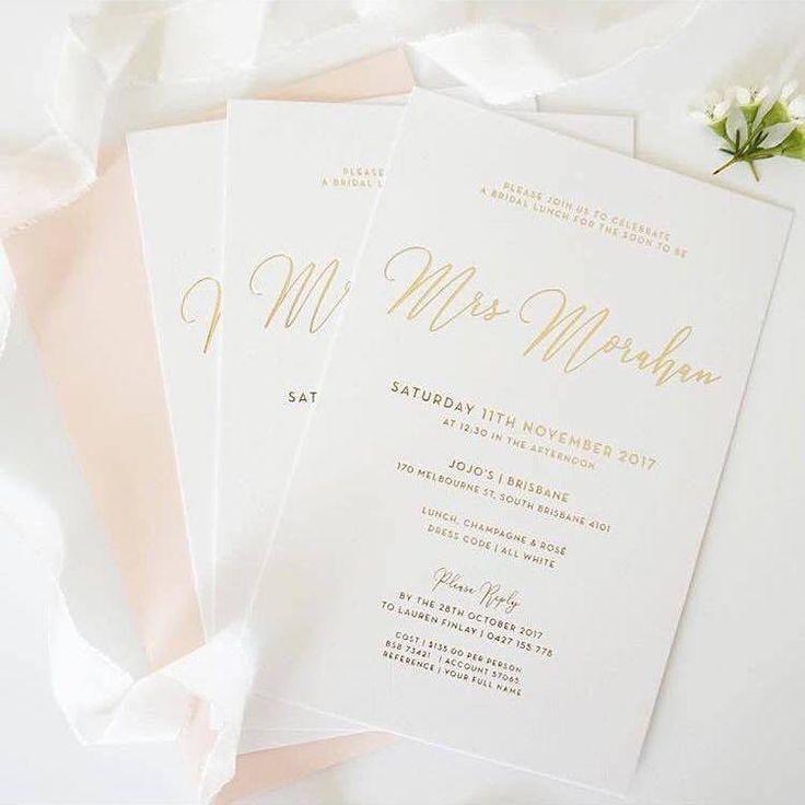 """Please join us to celebrate a bridal lunch for the soon to be Mrs."" Love love love this idea! Via @labellecreative #love #happy #bridalstyle #bridestory #bride #bridal #bridallook #bridetobe #weddingday #weddingtime #wedding #weddingideas #stationery #soontobemrs #lunch #invitation"