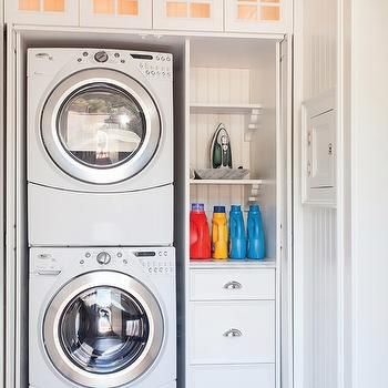 Hidden Laundry Room, Traditional, laundry room, Lewis and Weldon