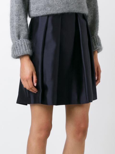 Burberry плиссированная юбка