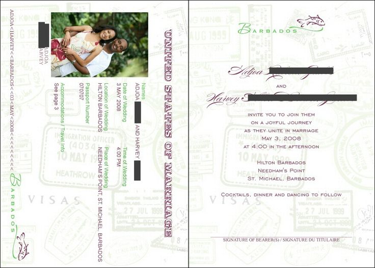 passport wedding program template - 45 best save the date invites images on pinterest