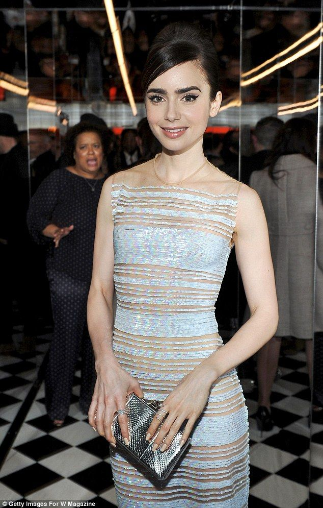 Lily Collins attends W Magazine Celebrates the Best Performances Portfolio and the Golden Globes with Audi and Moet & Chandon at Chateau Marmont on January 5, 2017 in Los Angeles, California.