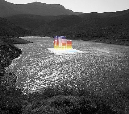 Lake of joy, 2009 Lambda c-print 50 x 45 cm