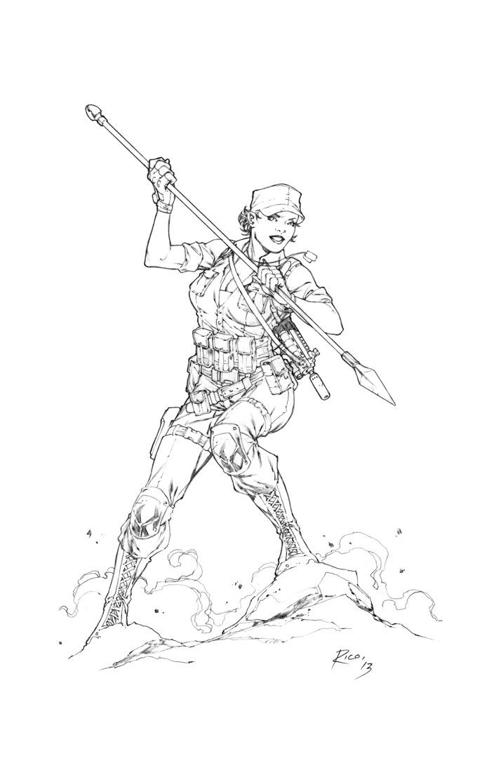 Army Gi Joe Coloring Books - Worksheet & Coloring Pages