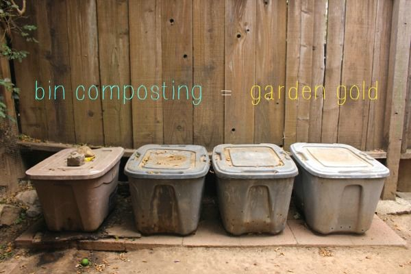 How To Set Up A Cheap & Easy Compost Bin System | In The ...