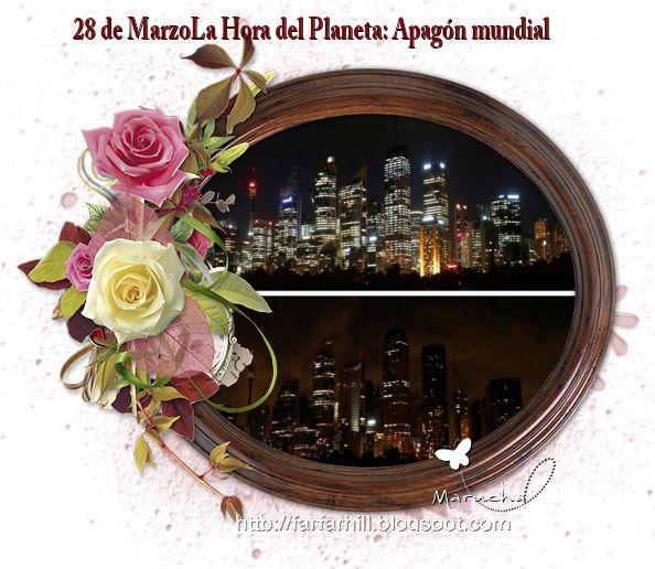 La casita del hornero 2: 28 de Marzo: Apagón mundial contra el cambio climá...