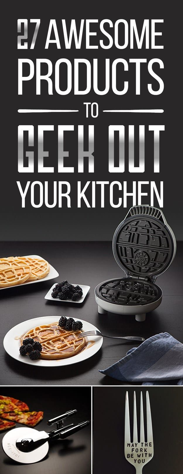 27 Wonderfully Geeky Products You Never Knew Your Kitchen Needed