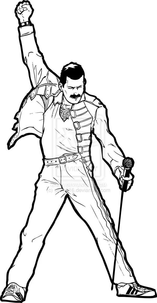 Freddie Mercury Clipart Vector 10 тыс изображений найдено