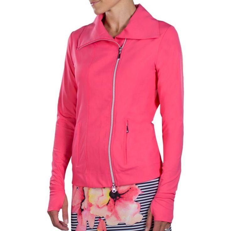 Jofit Women's Jet Set Golf Jacket, Size: Medium, Pink