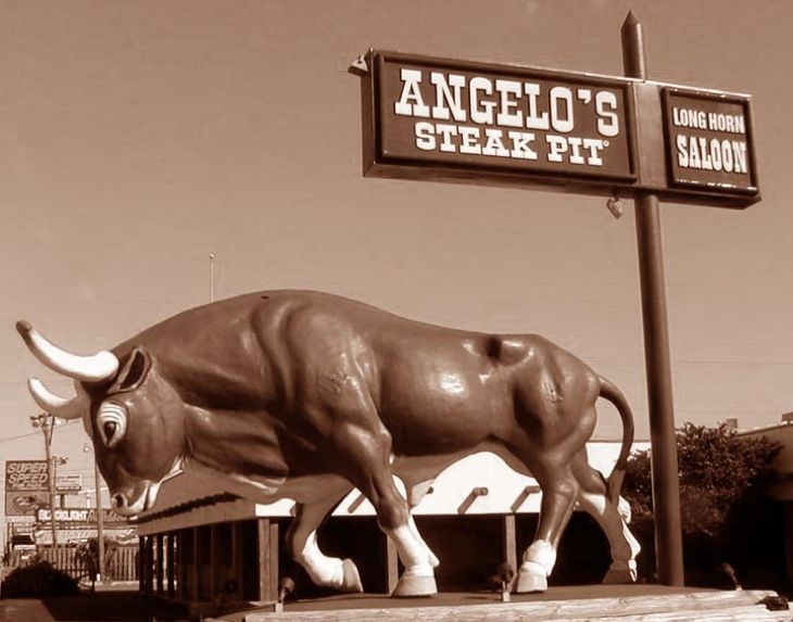 I wish I was having steak tonight at Angelo's in Panama City, FL instead of chicken at my house in Georgia.
