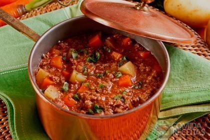 Receita de Jardineira de carne com legumes em receitas de carnes, veja essa e outras receitas aqui!
