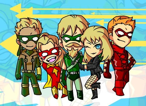 Green Arrow, Speedy, Arsenal, Connor Hawk, Black Canary