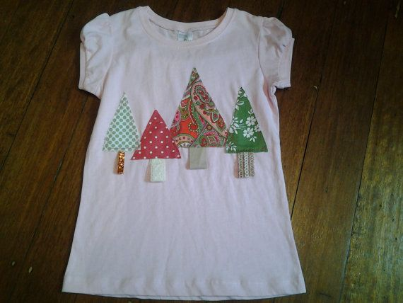 Hey, I found this really awesome Etsy listing at https://www.etsy.com/au/listing/253158333/size-6-pink-t-shirt-4-christmas-tree