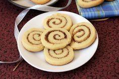 Cinnamon Roll Sugar Cookies - Eggless Cookie Recipe - Christmas Baking
