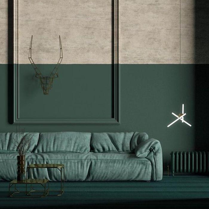 les 25 meilleures id es de la cat gorie murs vert fonc sur pinterest couleur p trole petrole. Black Bedroom Furniture Sets. Home Design Ideas