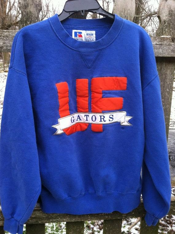 Vintage UF Florida Gators Sweatshirt   by ThisaThatVintage on Etsy, $12.00