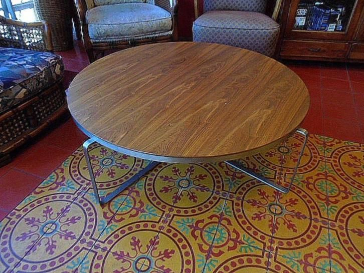 Design Retro salontafel, rond