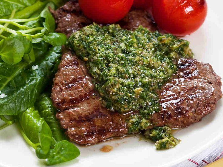 Salsa verde -ihana italialainen vihreä kastike