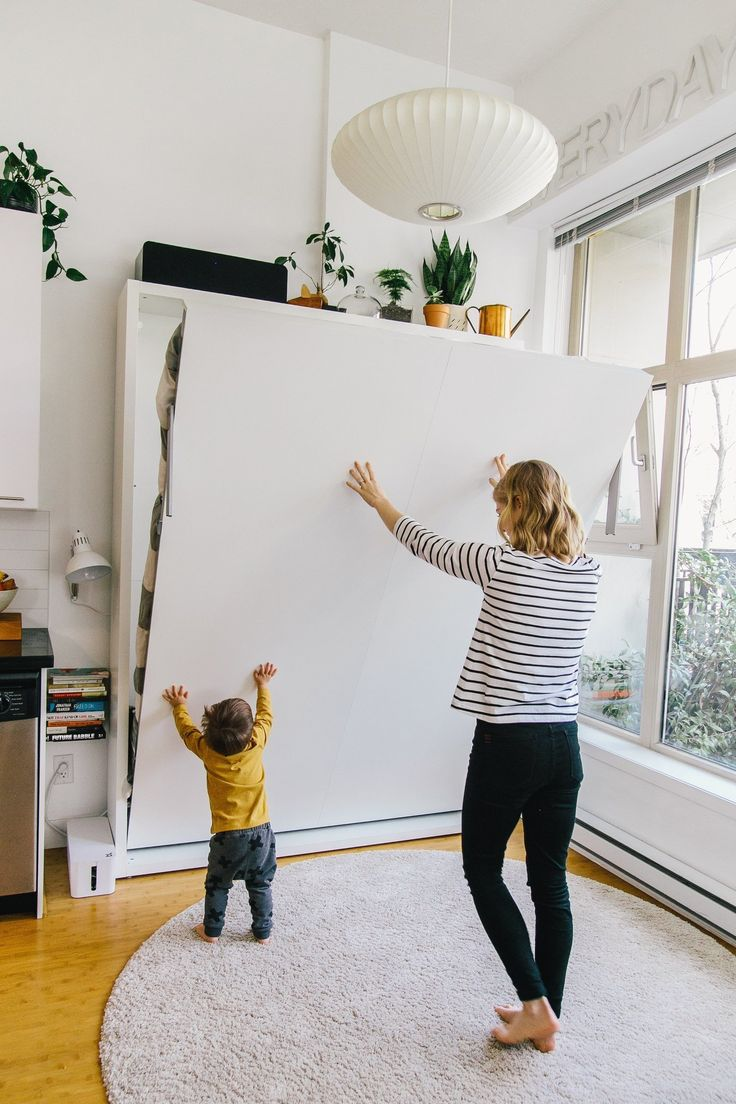 best 25 murphy bed plans ideas on pinterest murphy bed frame alison trevor and a baby in 600 square feet