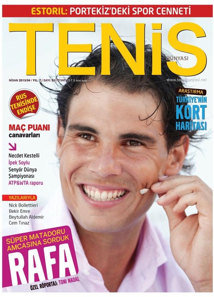 Tenis Dünyası Dergisi, Nisan sayısı yayında! Hemen okumak için: http://www.dijimecmua.com/tenis-dergisi/