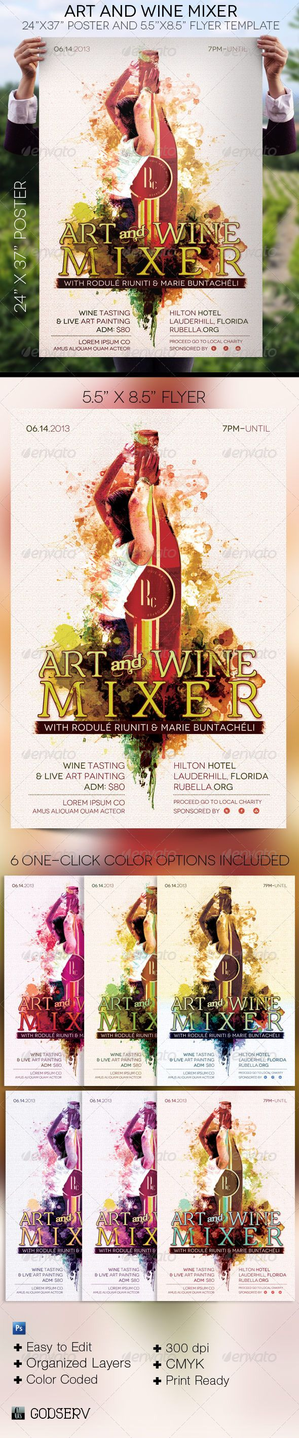 best images about print templates fonts flyer art wine mixer poster flyer template