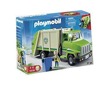 Playmobil Green Recycling Truck $33