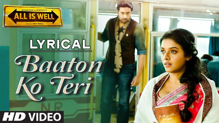 'Baaton Ko Teri' Full Song with LYRICS   Arijit Singh   Abhishek Bachcha...