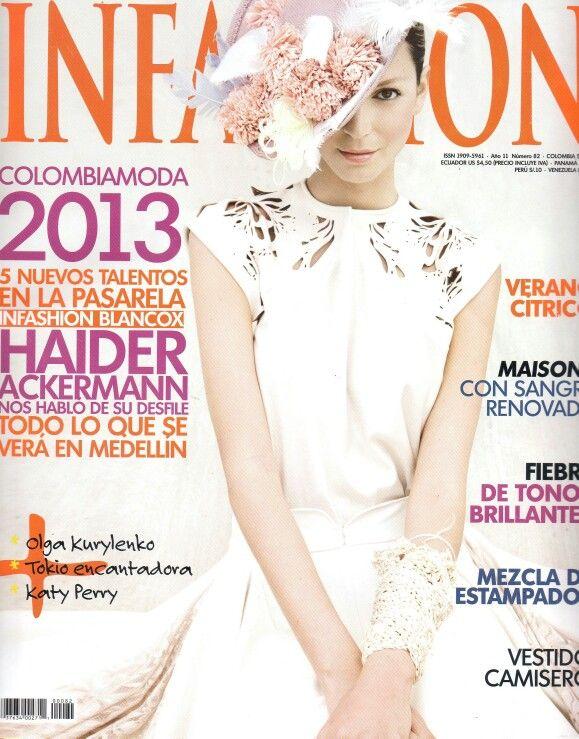 Siuk en revista INFASHION, edición julio de 2013