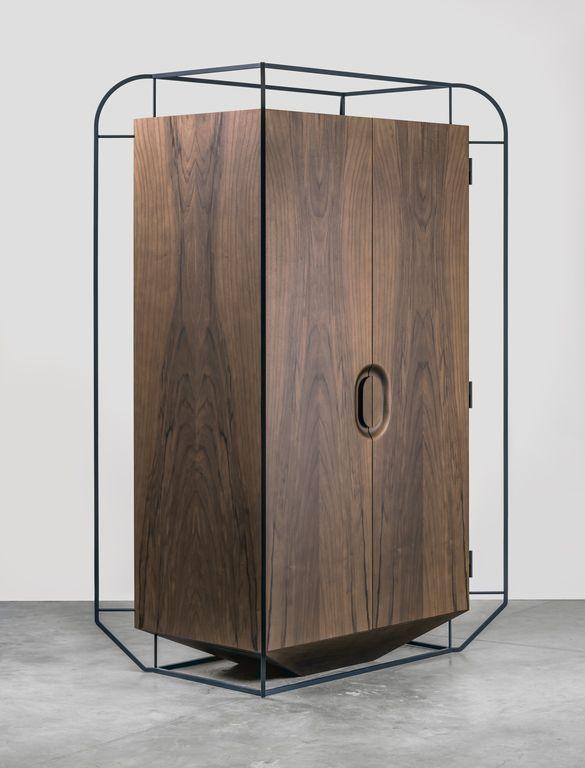 "THE WOOD COLLECTOR | Wardrobe ""Exo"", Grégoire de Lafforest - Furniture - Edition Galerie Gosserez"