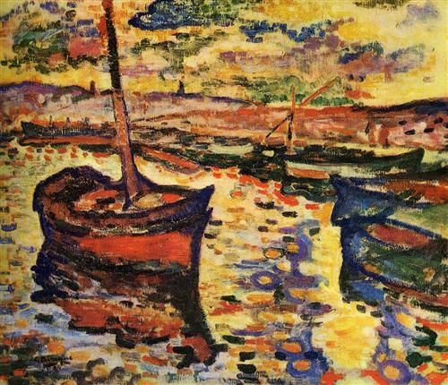 The Harbor - Georges Braque