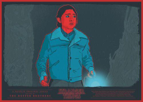 Stranger Things by  John Conlon Fuck Yeah Movie Posters!