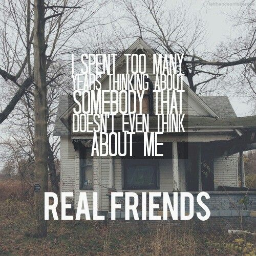 I've Given Up On You - Real Friends//