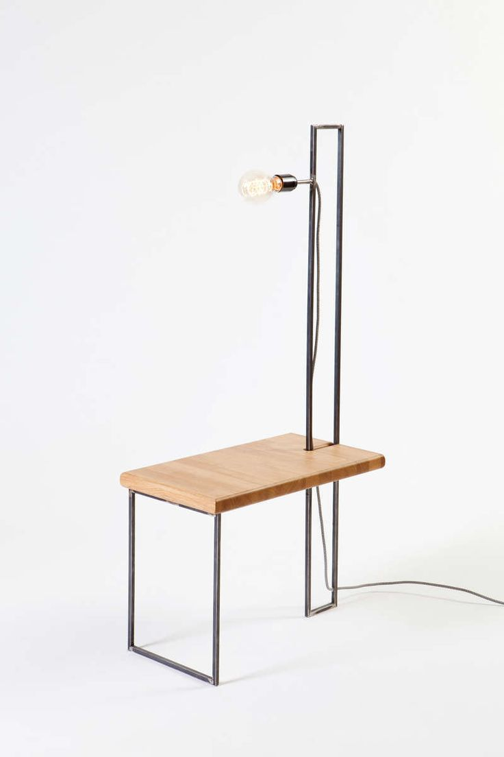 Cof.3 | Tripod Side Table With A Fixed Lamp, Design Inspirations
