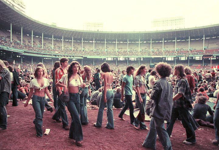 stadium Cleveland, 1978