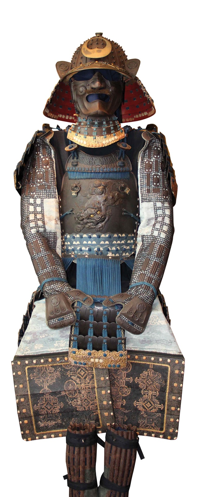Armure samouraï.    Collection Richard Béliveau. Photo : © Alain Lefort