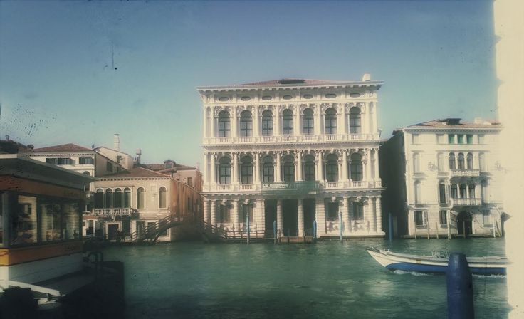 View of the Gran Canal ! Venice