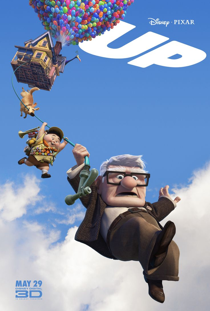 Up (Academy Award for Best Original Score and Best Animated Feature) - American 3D computer-animated comedy-adventure film, 2009