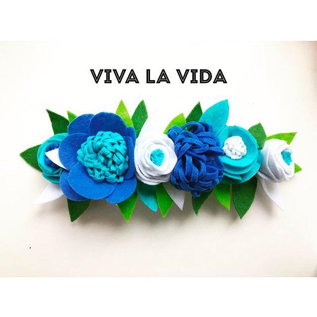 Венок нежный морской.#фетр #голубой#венок #венокизфетра #венокнаголову #веноксцветами #венокназаказ #vivalavida #аксессуарыдляволос #мкдлядетей #мастерклассволгоград #instamam_vlg #inst_volgograd #flowers #цветы